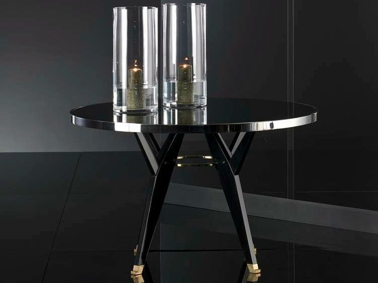 Lacquered coffee table for living room Myrna Collection by Megaron by Makomim
