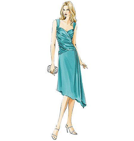 V8150 Misses' Dress | Average
