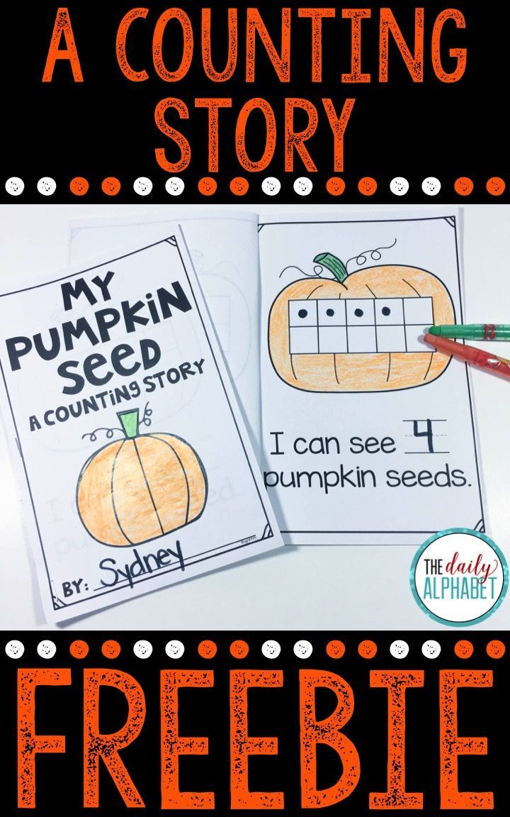 This pumpkin emergent reader is perfect for fall! It combines reading and math, and provides practice for your little learners!