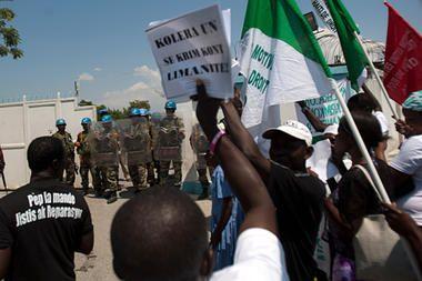 Rights groups suing UN for Haiti cholera epidemic