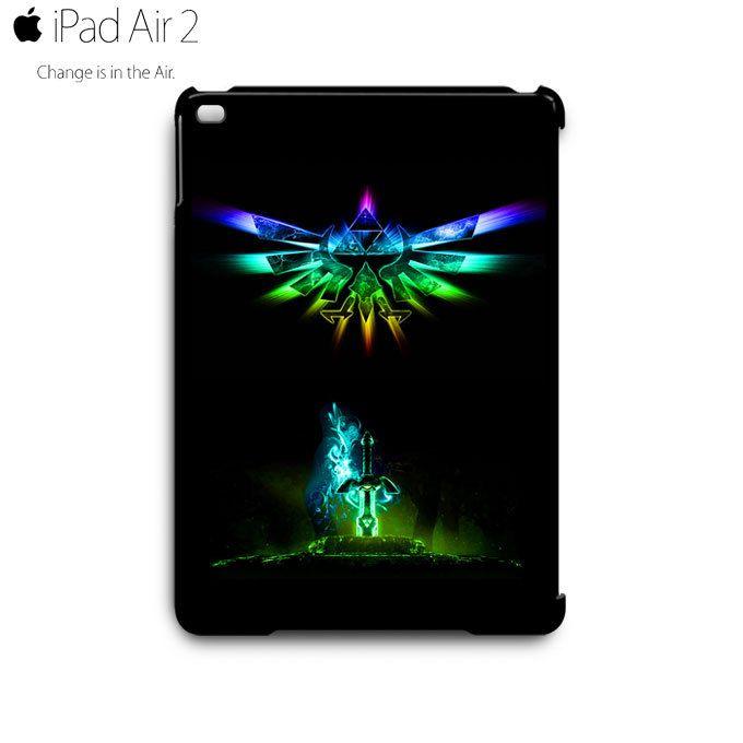 Legend of Zelda Triforce Wing Sword iPad Air 2 Case Cover Wrap Around