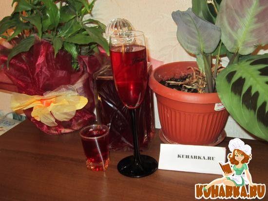 Рецепт: Малиновая водка