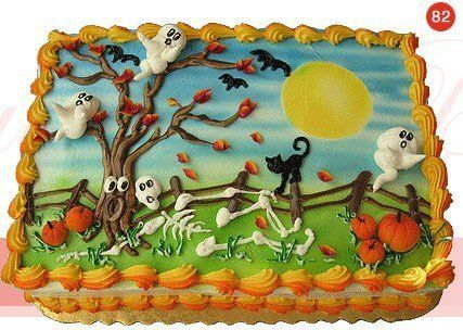 easy halloween cake ideas cakes halloween - Halloween Decorated Cakes