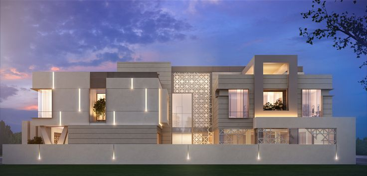 1000 m  private villa  kuwait This is around the corner from my Mother in Law's house. I have admired this design from construction.