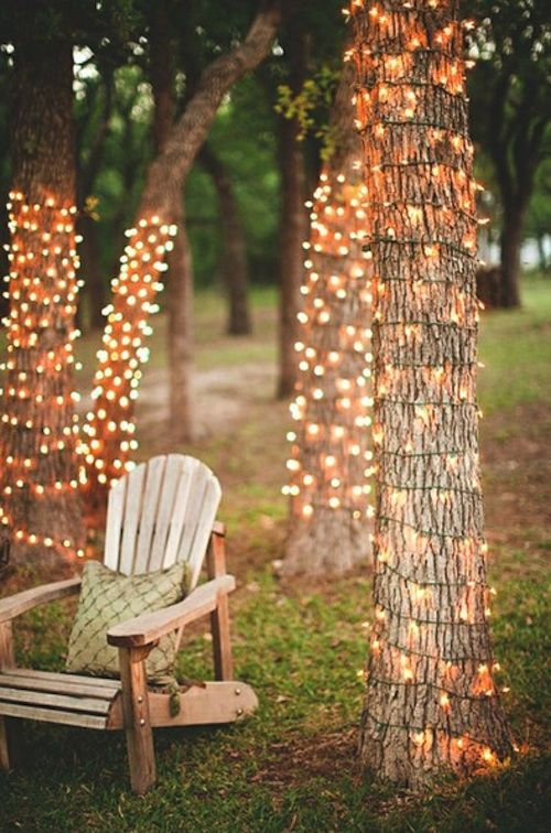 Great idea for party lighting any time of year