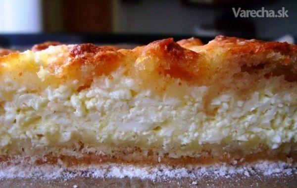 Tvarohový mňam-koláčik - Recepty - Varecha.sk