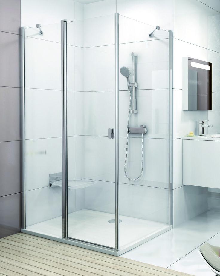 HOME - Vous n'aimeriez pas vous doucher dans cette superbe cabine ? Elle est tellement spacieuse qu'on peut même y aller à deux