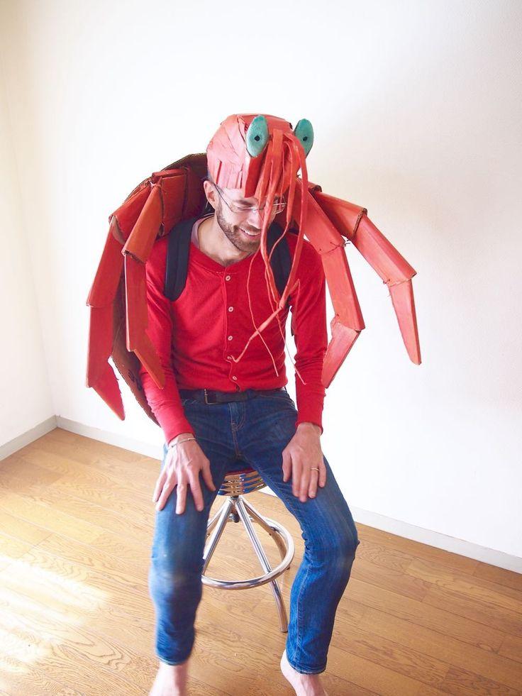 The Cardboard Collective: Cardboard Hermit Crab Costume