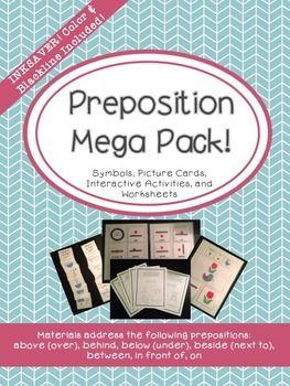 Preposition Mega Pack! - Common Core Aligned