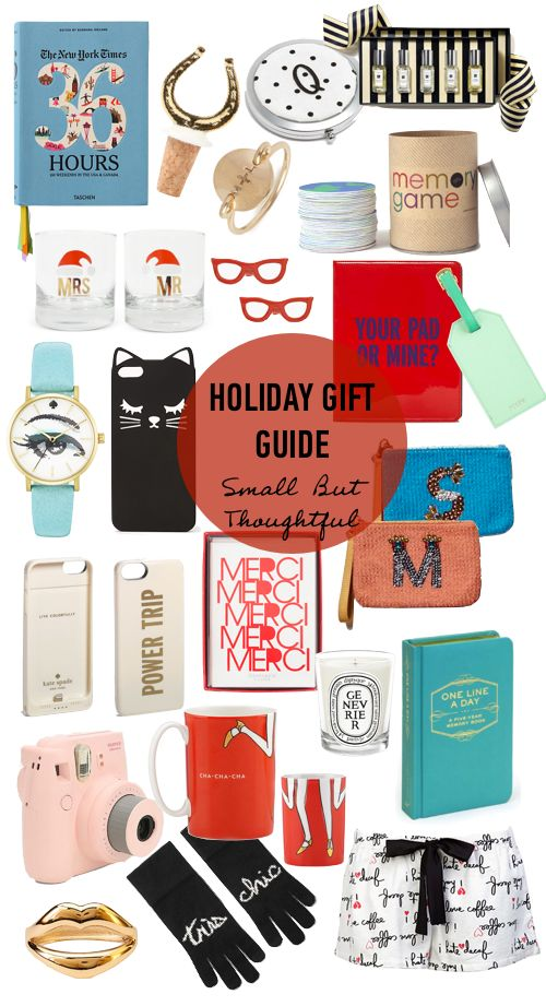 holiday gift guide small but thoughtful great gifts for