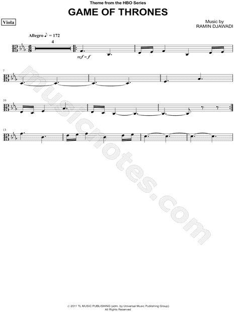 game of thrones violin lyrics