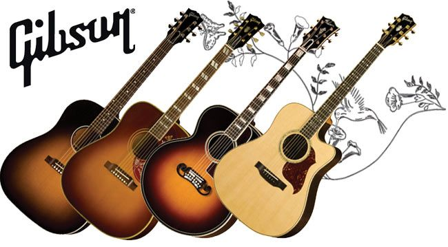 I play a 1968 Gibson J-45 Deluxe, a Gibson Hummingbird Pro and have played reissue Gibson J-45s on two of my albums.