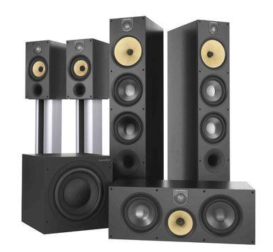 B&W 600 series speakers