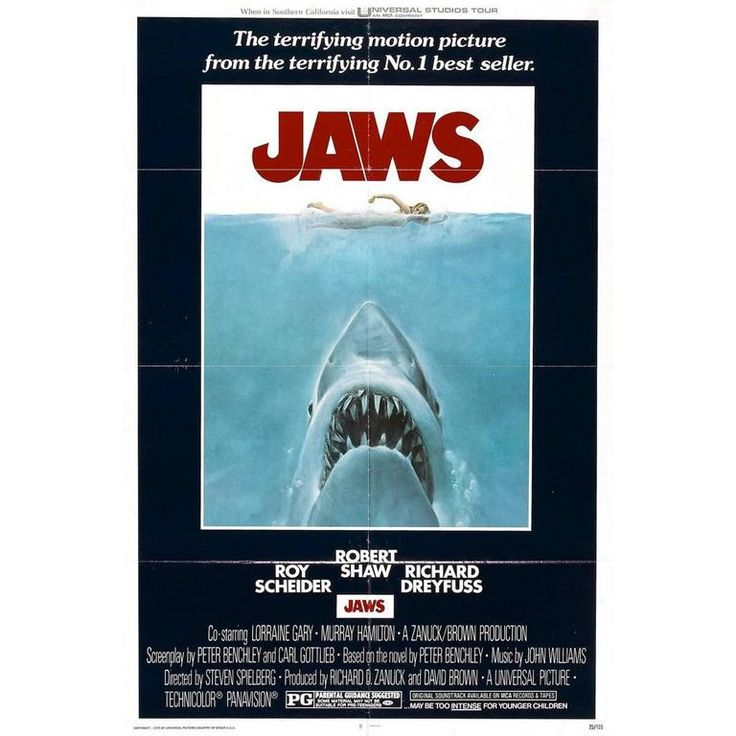 """Jaws"" Film Poster, 1975 