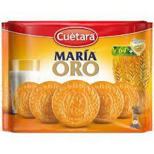 . Galletas Maria ORO de Cuetara, paquete de 800 gramos.  Precio: 1,25 �/Paquete   Precios para Palet completos cargados en nuestro almacen.  Pedido minimo: 1 palet  SOLICITAR INFORMACION POR E-MAIL