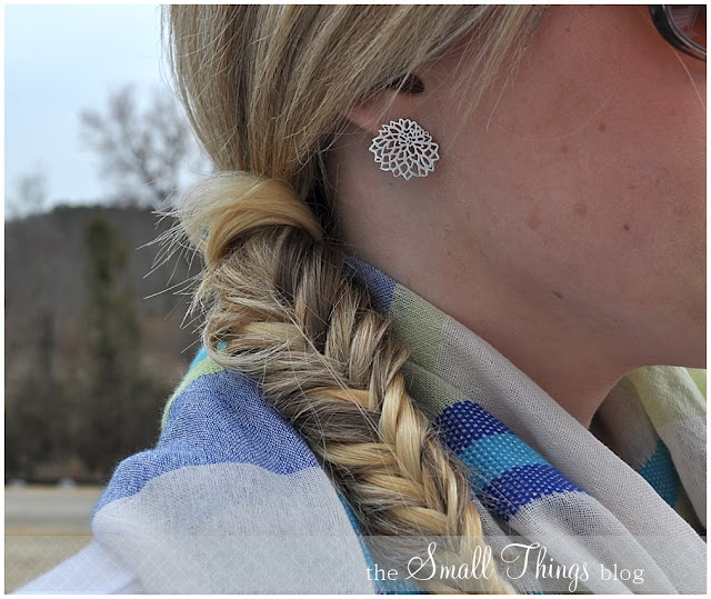 fish tailDiy Hairstyles, Small Things, Hair Tutorials, Long Hair, Hair Style, Fishtail Braids, Things Blog, Style Blog, Shoulder Length Hair