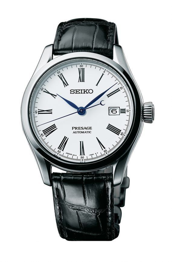 @seikowatches Presage Automatic (Ref. SPB047) measures 40.5 mm in diameter and 12.4 mm thick, with a dual-curved sapphire crystal, a see-through sapphire caseback, and a water-resistance of 100 meters.  More @ http://www.watchtime.com/wristwatch-industry-news/watches/seiko-presage-enamel-collection-4-new-models-debut/ #seiko #watchtime #Baselworld2017