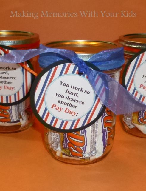 School principal appreciation candy ideas just b cause Gifts to show appreciation to friend