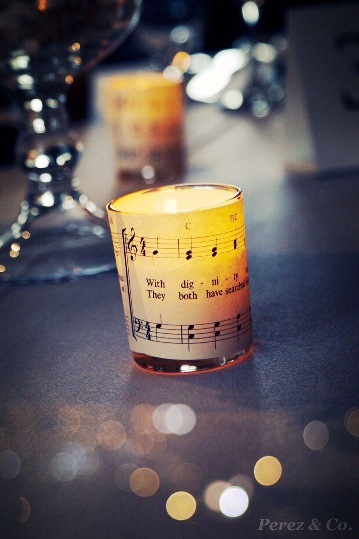 Music Theme Custom Wedding Decor - By Cindy Perez for Perez & Co.