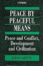 Galtung, J., 'Peace by Peaceful Means: Peace and Conflict, Development and Civilization', 1996, London, Sage Publications, pp. 2.