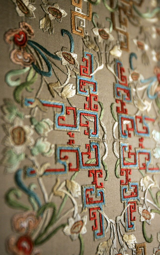 Stunning Delicate  Enchanting Chinese Embroidery,Forbidden City http://www.interactchina.com/servlet/the-Textile-Art/Categories#.VMLzikeUfYB