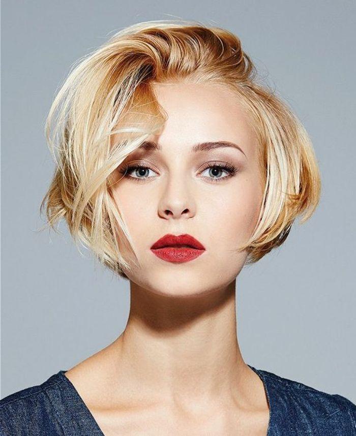 1001 + variantes de coupe courte blonde pour rafraîchir votre look | Les cheveux courts bob ...