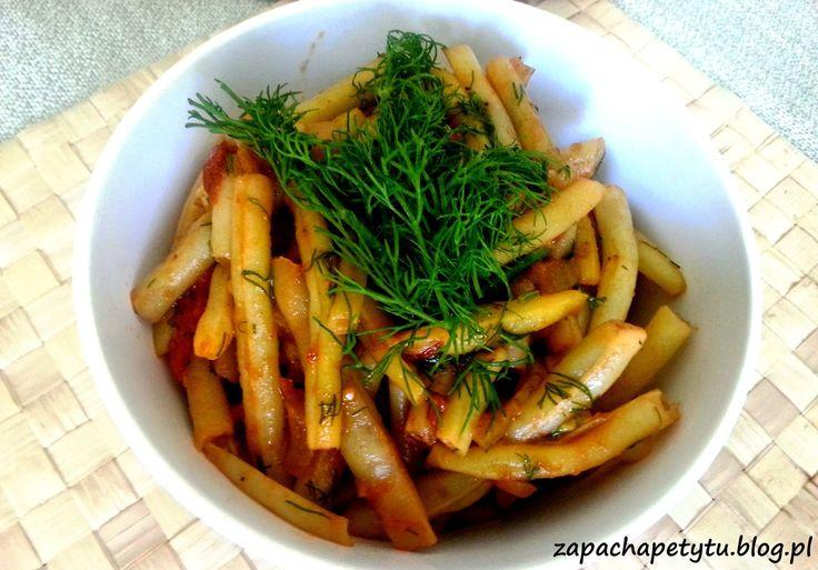 Fasolka szparagowa z pomidorami #green #beans #tomatos #polishfood #foodblog