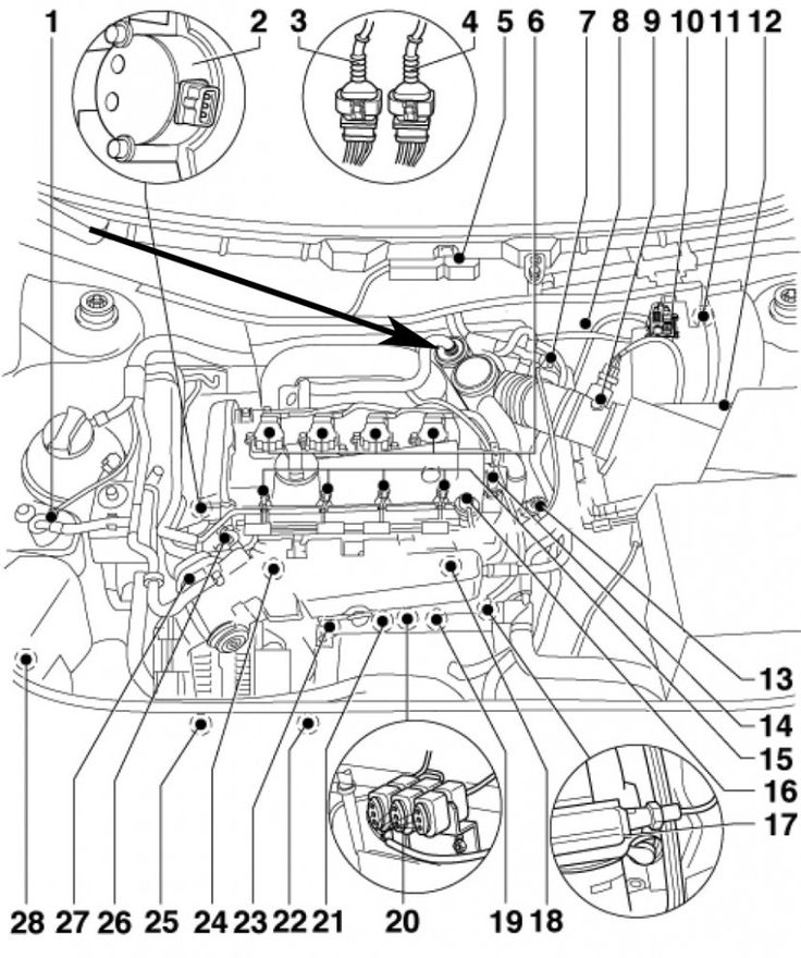 5 Volkswagen Jetta Engine Diagram