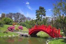 jardins japoneses .