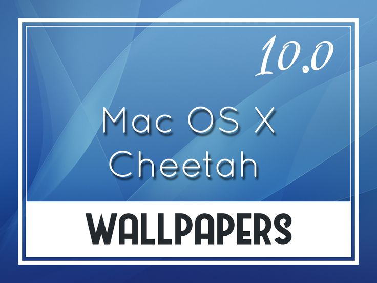 Mac OS X v10.0 Cheetah Default Desktop Wallpapers http://oswallpapers.com/mac-os-x-v10-0-cheetah-default-wallpapers/ #macOS #Wallpapers #Backgrounds #OSX