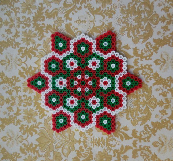 Christmas Ornament Hama Beads by TCAshop