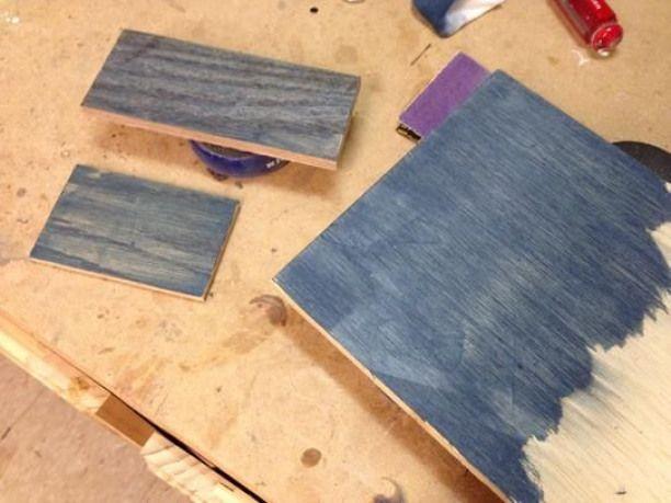 Worn Navy Premium Wood Stain