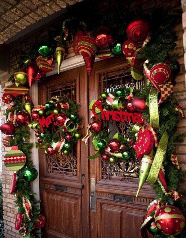 Christmas Porch Decorating Ideas for 2012