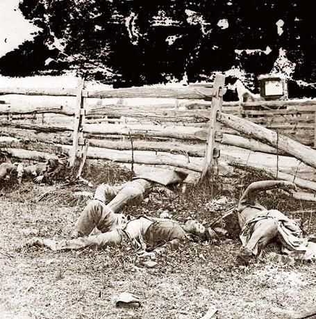 Dead Louisianians at the Battle of Sharpsburg, September 17, 1862 LOUISIANA IN THE CIVIL WAR