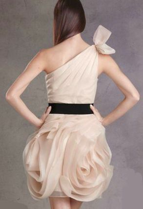 Vera Wang(ヴェラウォン) ドレス-ミニ・ミディアム ★ゴシップガール!新作!Vera Wangヴェラウォンドレス7色★ - 3
