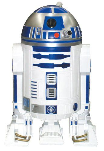 Believe it or not, this R2D2 is actually a trash can. That's it... even my trash has to be cool.