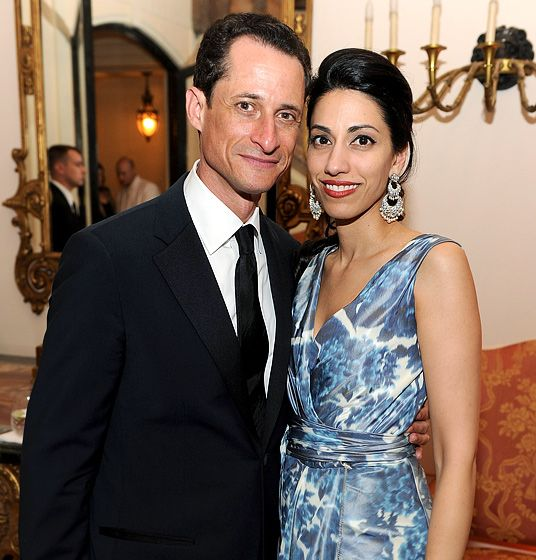Best of 2011: Cheating Scandals of the Year: Anthony Weiner and Huma Abedin