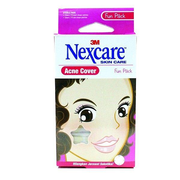 """Nexcare Acne Cover """"Fun Pack"""" (Obat Jerawat).  Menutup Jerawat dan mengurangi infeksi akibat kontaminasi udara atau sentuhan tangan.     - Price per Pack.  http://tigaem.com/acne-cover/1141-nexcare-acne-cover-fun-pack-obat-jerawat.html  #nexcare #acnecover #obatjerawat #3M"""