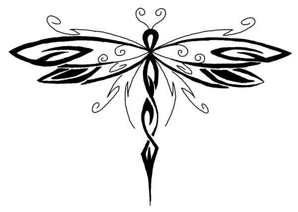 Dragonfly Tattoos and Designs : Page 29