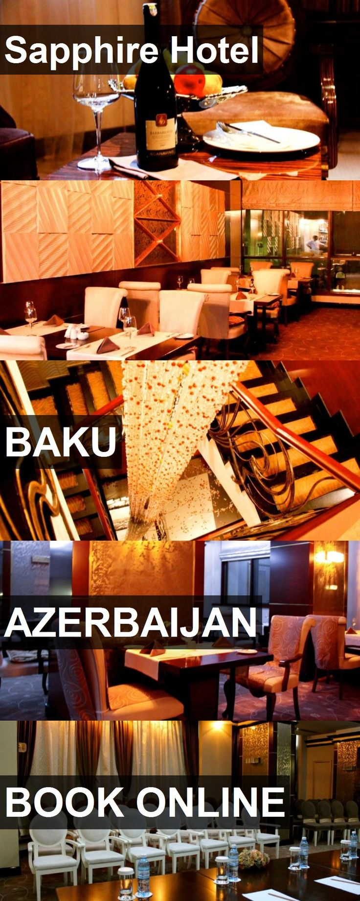 Hotel Sapphire Hotel in Baku, Azerbaijan. For more information, photos, reviews and best prices please follow the link. #Azerbaijan #Baku #hotel #travel #vacation