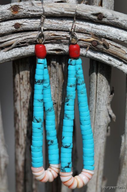 Vintage Southwestern Pueblo Indian Turquoise by Yourgreatfinds