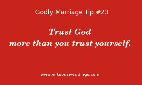 Godly Marriage Tip #23 | More Godly Marriage Tips at www.virtuousweddings.com