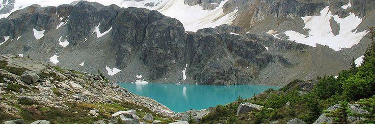 Wedgemount Lake (Difficult). Time: 7 hr. Distance: 14 km. Elevation Gain: 1160 m.