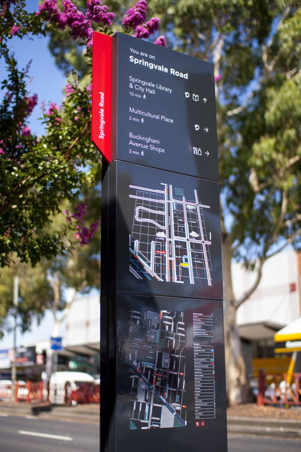 Springvale Activity Centre: Wayfinding Strategy and Signage