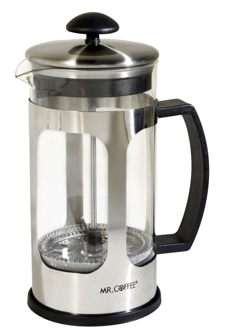 1.2-Cup Mr Coffee Daily Brew French Press Coffee Maker