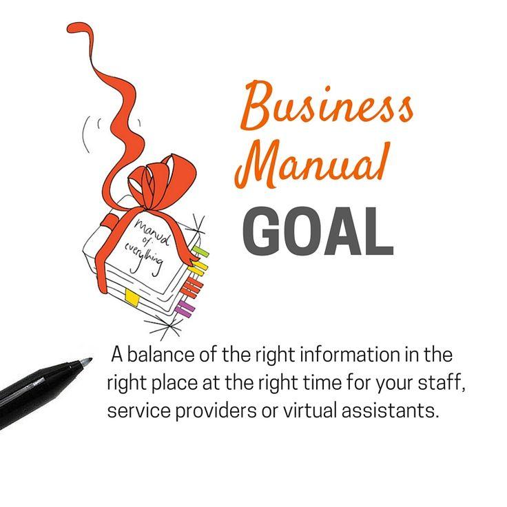 Business Manual Goal