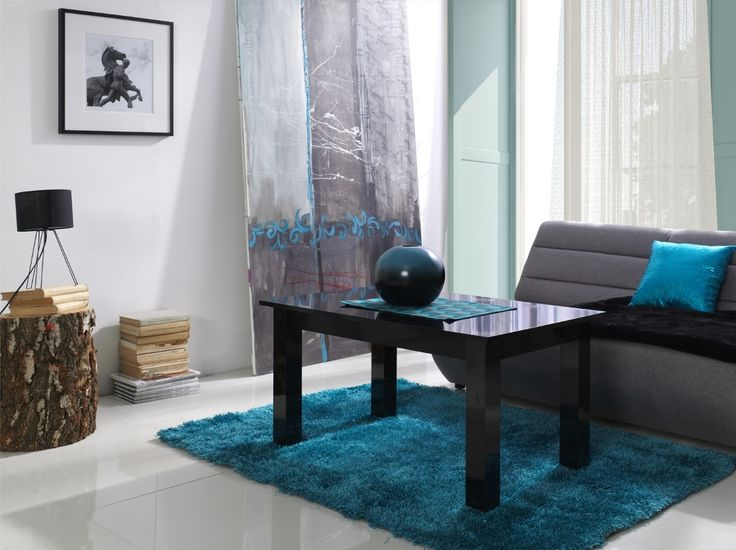 Konferenční stolek Sander / black coffee table