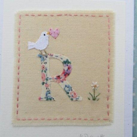 R Alphabet Card