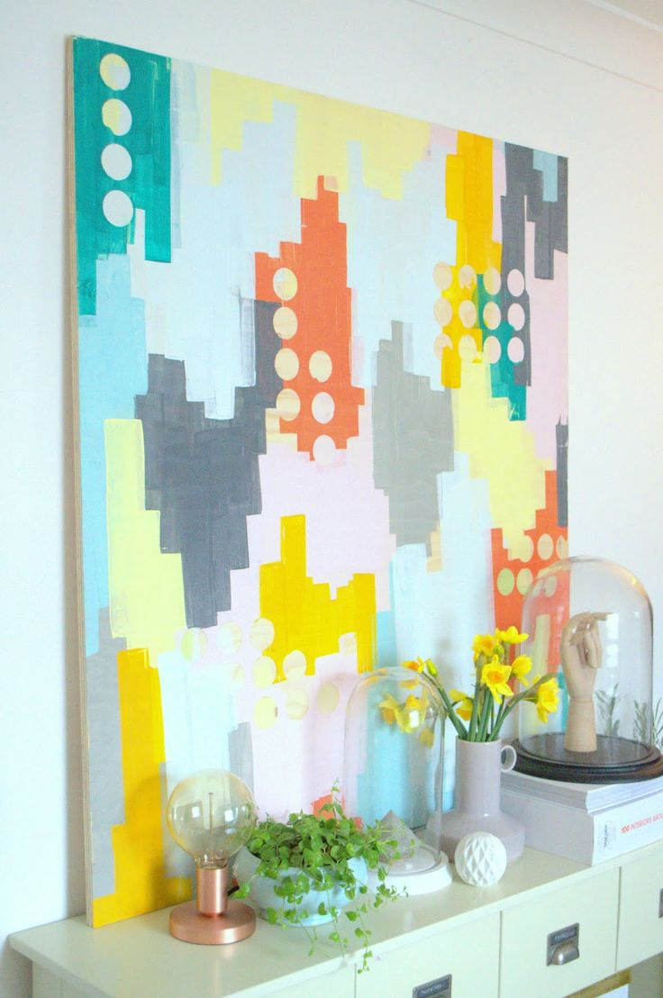 The 25+ best Easy abstract art ideas on Pinterest | Painting ...