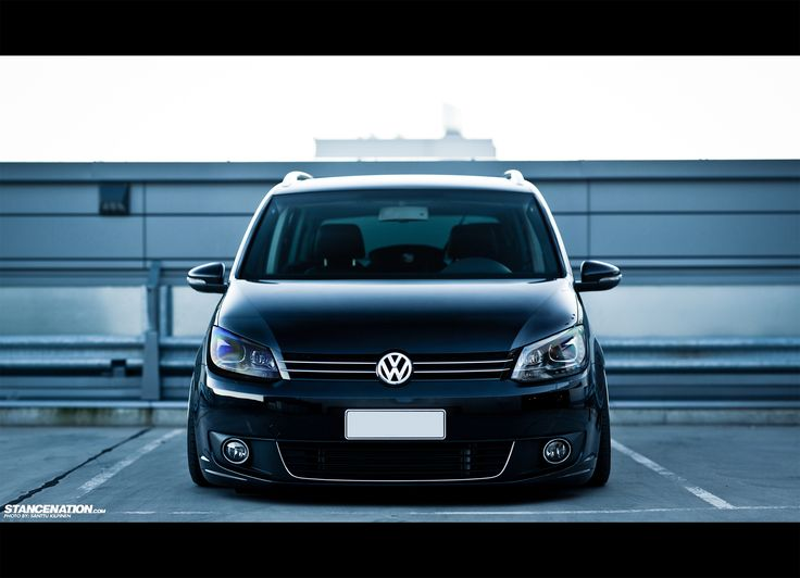 VW Touran #stancenation